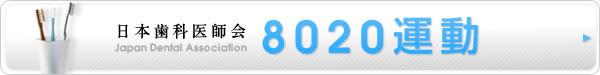 日本歯科医師会8020運動